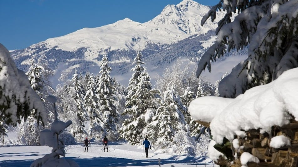 Welcome to the cross-country skiing paradise