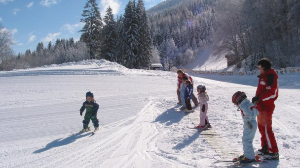 Weissensee alps only for kids